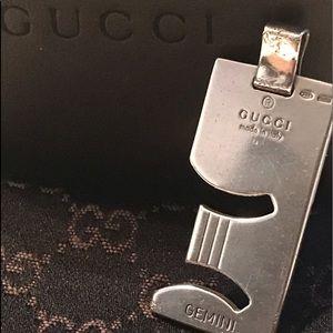 Gucci Gemini 925 Silver Pendant